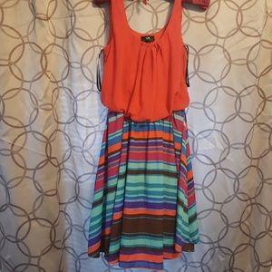I.N. San Francisco (Dillard's) sleeveless dress